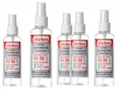 stieber® Hygiene Spray Oberflächen Schnell-Desinfektion 100 ml
