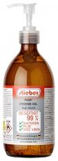 stieber® Hygiene-Hand-Gel begr. viruzid, 500 ml Praxen-Pumpspender