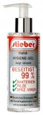 stieber® Hygiene-Hand-Gel begr. viruzid, 200 ml Pumpspender