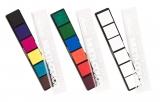 stieber® Riegelkissen Multi-Color, 6x à 20x20 mm