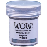 WOW! Embossingpulver silber 15 ml