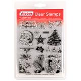 stieber® Clear Stamp Set Weihnachten 1 - Christmas 1