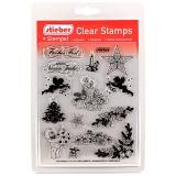 stieber® Clear Stamp Set Weihnachten 2 - Christmas 2