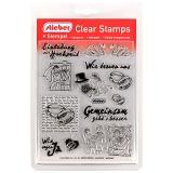 stieber® Clear Stamp Set Hochzeit - Wedding