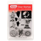 stieber® Clear Stamp Set Fantasie - Fantasy