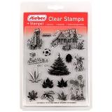 stieber® Clear Stamp Set Im Garten - In The Garden