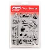 stieber® Clear Stamp Set Feste FEIERN - Celebration