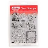 stieber® Clear Stamp Set Teddies 2 - Teddy 2