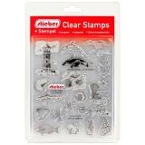 stieber® Clear Stamp Set Meer UND Strand - at The Seaside